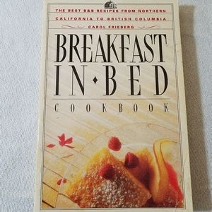 """3/$10📚""""Breakfast in Bed"""" Cookbook"""